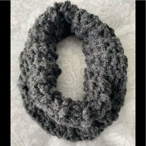 Hand-knit soft cowl neck warmer